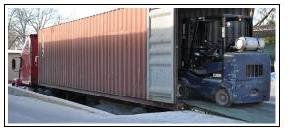 Transportation of envelope machines